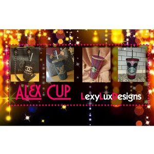 Custom Made Bling Cups - LexyLuxDesigns